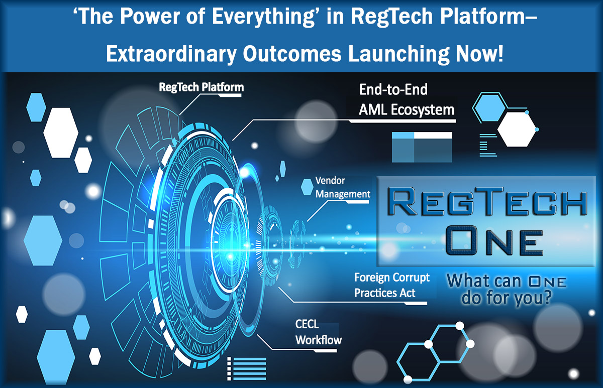RegTech One platform for eGRC horizontal governance