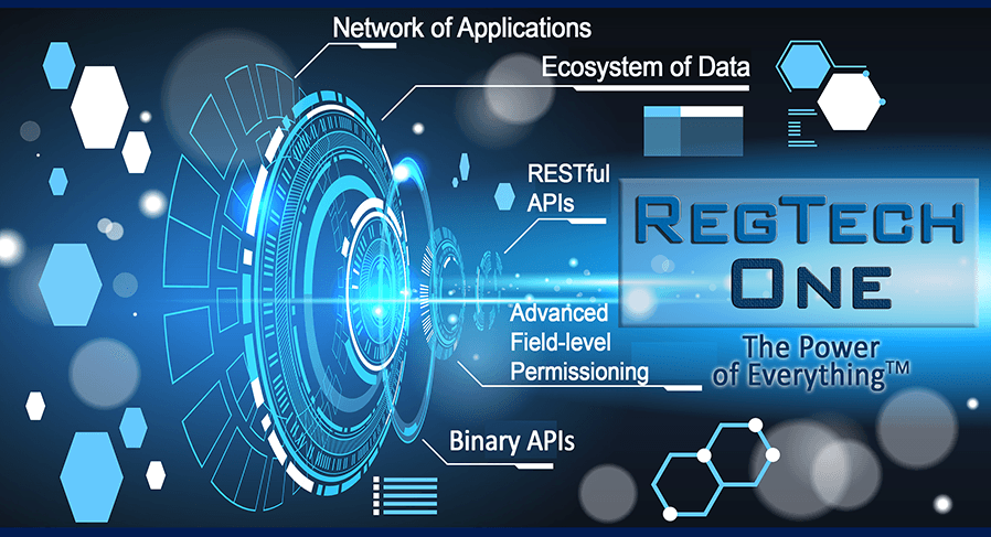 RegTech One platform for RegTech Applications--The Power of Everything in a Tech Platform