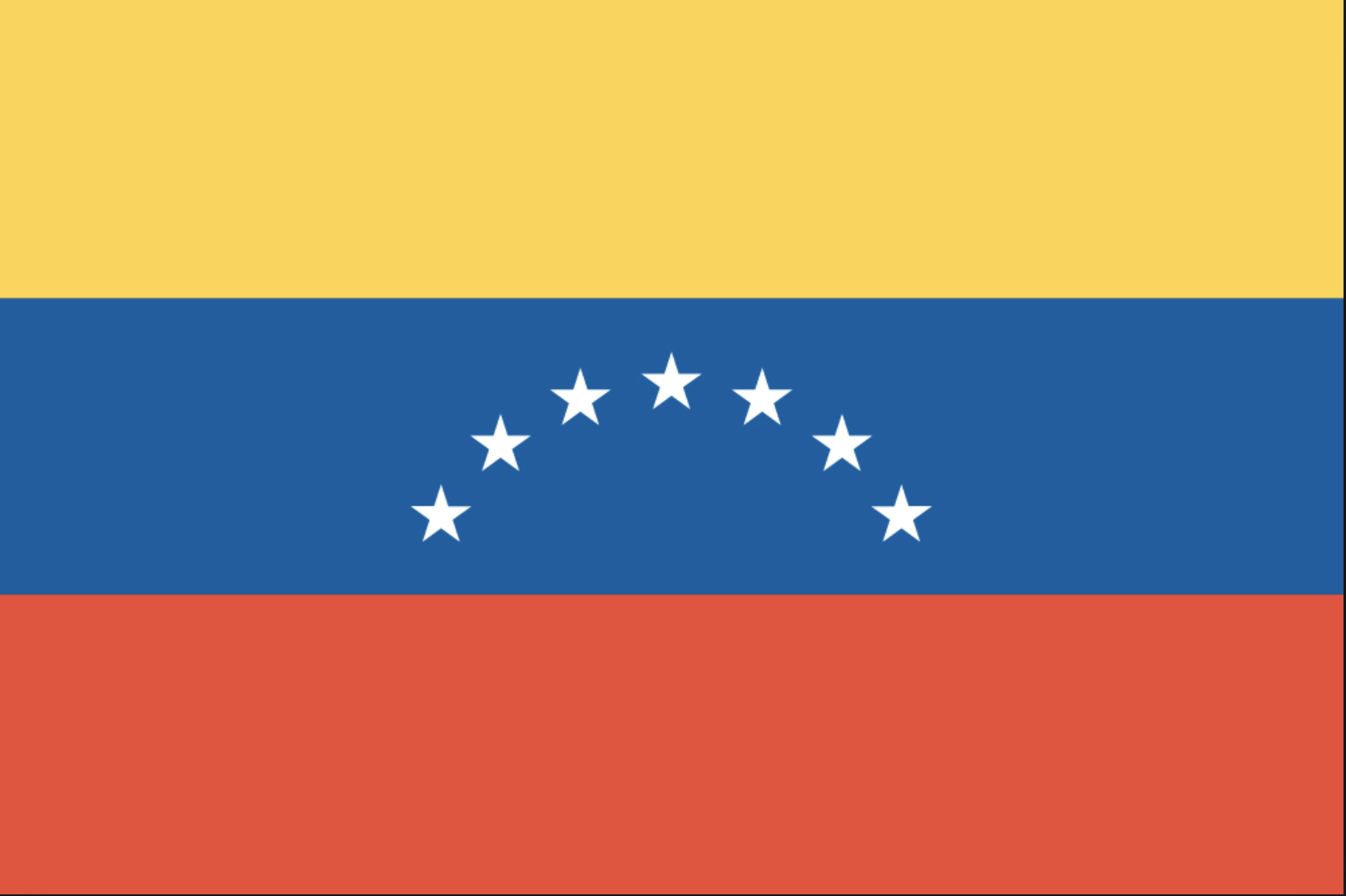 Image of flag of Venezuela