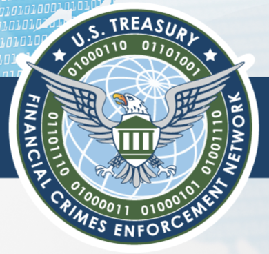FinCEN Logo--Financial Crimes Enforcement Network for AML and Terror Financing