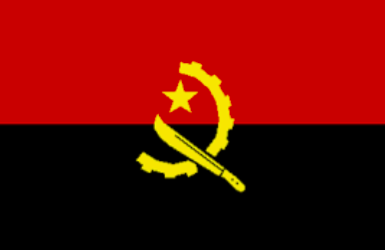 Image of flag of Angola