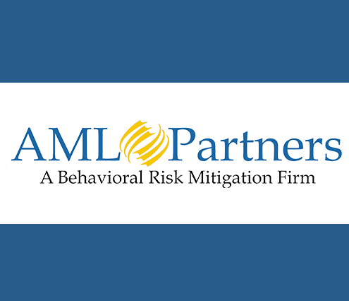 AML Partners logo--Anti-money laundering and financial-crimes software