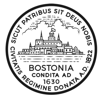 Horizontal Governance in Boston. Art: The Seal of Boston (circle with skyline art and founding date and text)